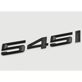 Matt Black BMW 545i Car Model Rear Boot Number Letter Sticker Decal Badge Emblem For 5 Series E93 E60 E61 F10 F11 F07 F18 G30 G31 G38