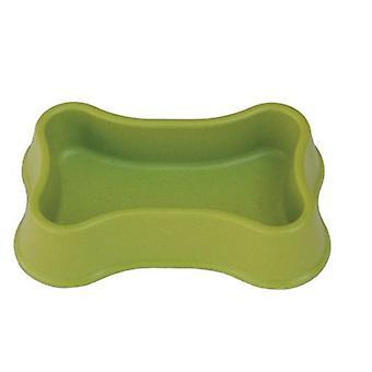 自由狗竹碗骨布朗(狗,碗,喂食器和水分配器)