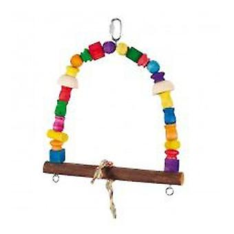 Mgz Alamber Large Arch Swing Wood 34 X 37 Cm