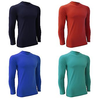 Finden & Hales Mens Sports Long Sleeve Team Baselayer Vest