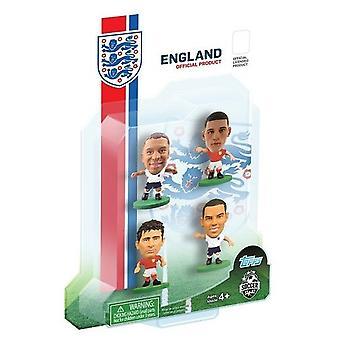 SoccerStarz England 4 Player Blister Pack B Figures