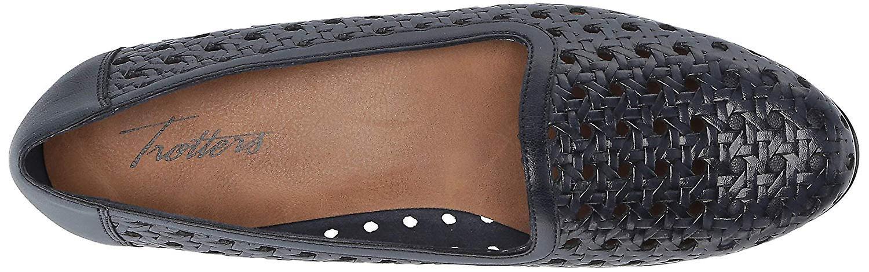 Trotters Womens T1909-126 Leather Closed Toe Slide Flats oG7oZ7