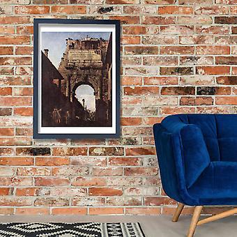 Canaletto - Archway plakat Giclee druku
