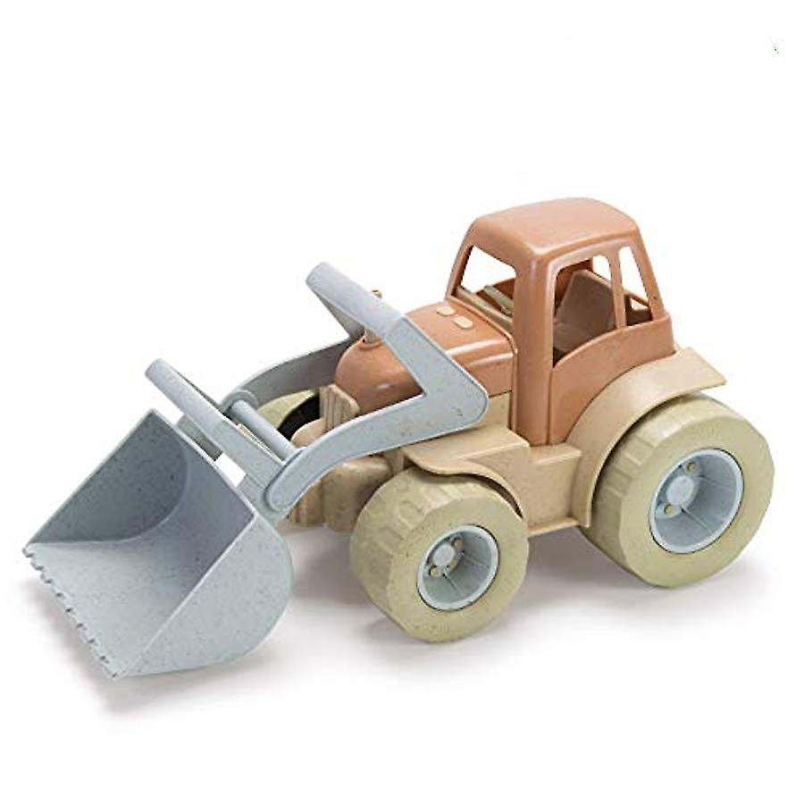 Dantoy Bio-Toy Front-Loader Tractor, Eco-conscious Toys Made from Sugarcane