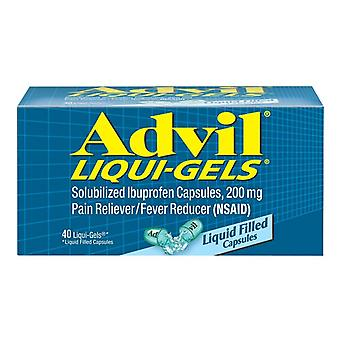 Advil Ibuprofen, 200 mg, Liqui-Gels, 40 EA