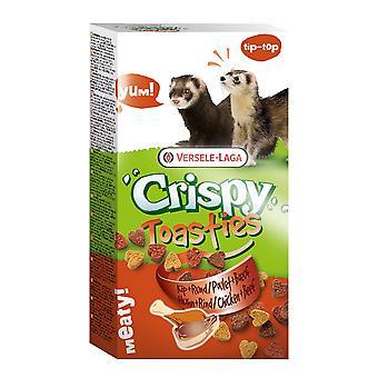 Versele Laga Crispy Toasties Chicken & Beef Ferret Food