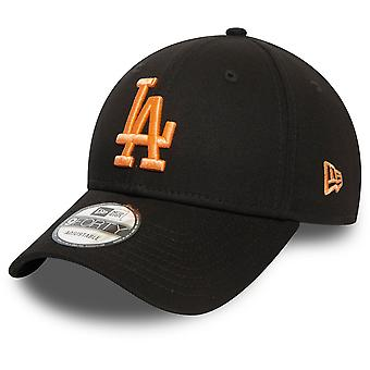 New Era 9Forty Gorra de Mujer - Los Angeles Dodgers melocotón negro