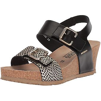 Mephisto Womens Lissandra Leather Open Toe Casual Ankle Strap Sandals