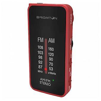 Transistor Radio BRIGMTON BT224 Red