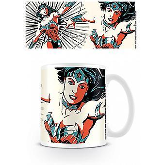 Justice League Wonder Woman Colour Mug