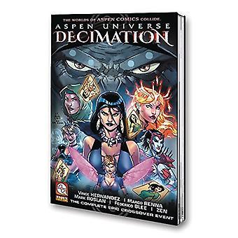 Aspen Universe - Decimation Volume 1 by Vince Hernandez - 978194151151