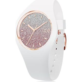 Ice Watch - Armbanduhr - Unisex - ICE lo - White pink - Medium - 3H - 013431