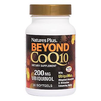 Nature's Plus Beyond COQ-10 200mg Ubiquinol Softgels 30 (49564)