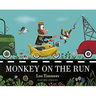Monkey on the Run by Leo Timmers - 9781776572502 Book