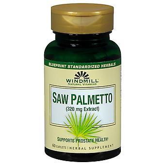 Windmill saw palmetto, 320 mg, caplets, 60 ea (discontinued)