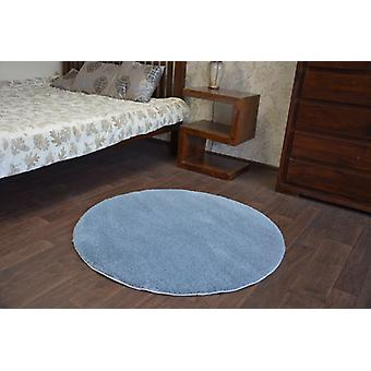 Rug circle SHAGGY MICRO grey