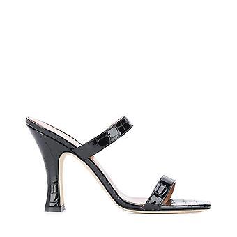 Paris Texas Px214xclm2nero Women's Black Leather Sandals