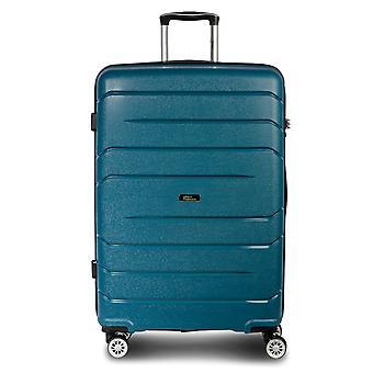 Fabrizio Alpha Trolley M, 4 rouleaux, 67 cm, 59 L, Bleu