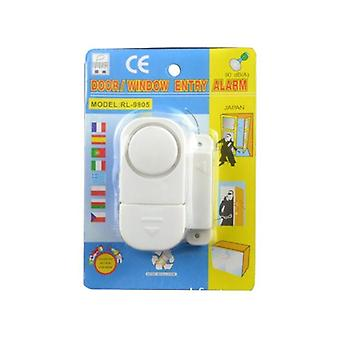 Compact and easily assembled window & door alarm with 90 dB