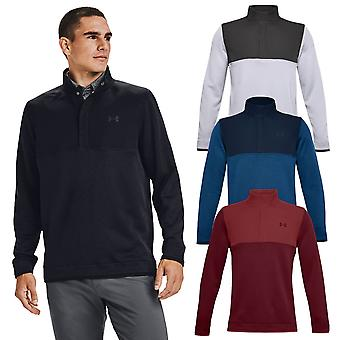 Under Armour Mens Storm SF 1/2 Snap Strech Water Repellent Golf Sweater
