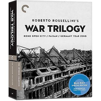 Importer des USA de guerre trilogie [Blu-ray] de Rossellini