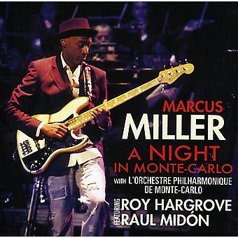 Marcus Miller - Night in Monte Carlo [CD] USA import