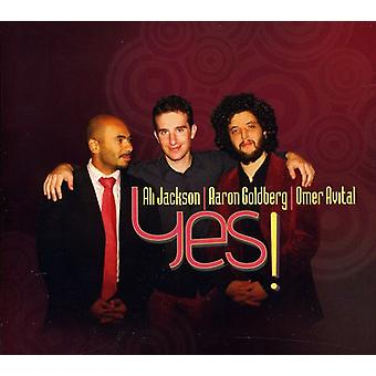 Aaron Goldberg & Ali Jackson - Yes! [CD] USA import
