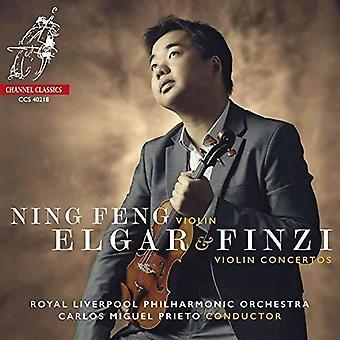 Elgar & Finzi: Violin Concertos [CD] USA import