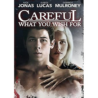 Careful What You Wish for [DVD] USA import