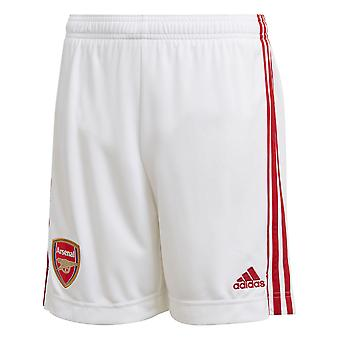 adidas Arsenal 2020/21 Kids Home Football Short White