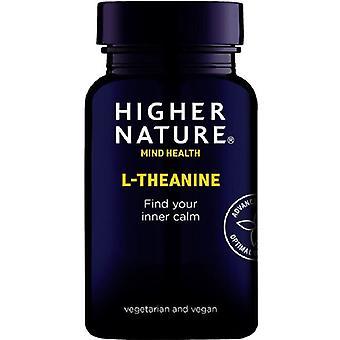 Hogere natuur L-Theanine Vegan Capsules 30 (QTH030)