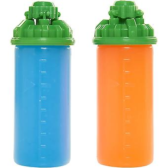 World of Nintendo 2-Pack Splattershot Refill Ink Splatoon Blue/Orange