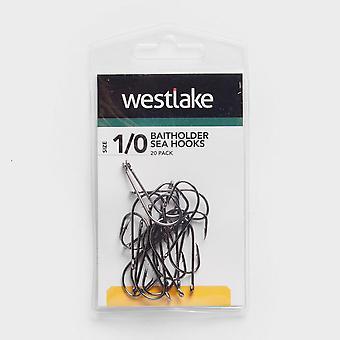 Westlake 20Pk Baitholder Hooks Sz 1/0 Natural
