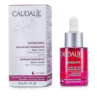 Caudalie Vinosource Overnight Recovery Oil (For Dry to Very Dry Skin) 30ml/1oz