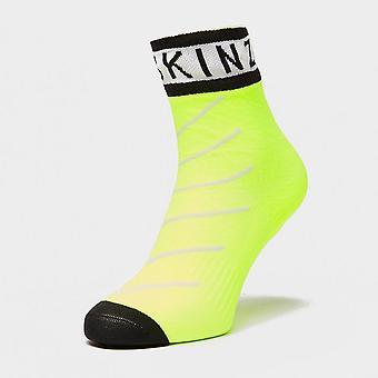 Sealskinz Men's Waterproof Warm Weather Ankle Length Socks Yellow
