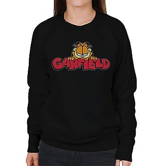 Garfield Smile Classic Logo Women's Sweatshirt