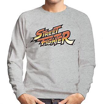 Street Fighter Logo Men's Sweatshirt