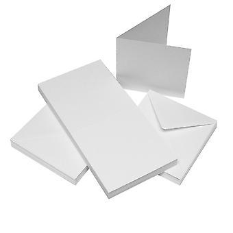 Craft UK Cards & Envelopes 4x4 Inch White