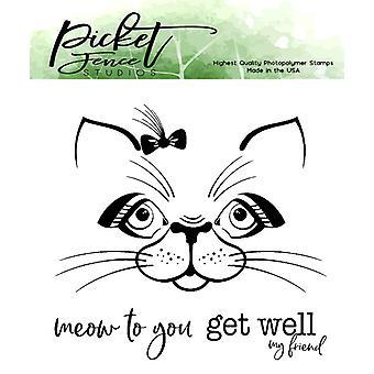 Picket Fence Studios Maddie Kitten Clear Stempels
