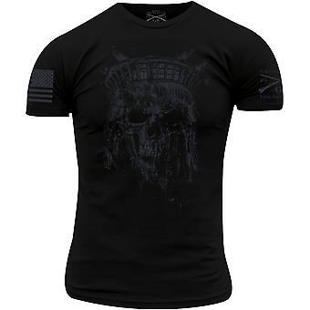 Grunt Style Lady Liberty Spectre Reaper T-Shirt - Preto