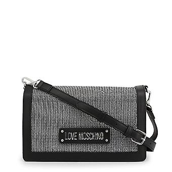 Amor moschino jc4051p women's magnetic fixaing crossbody bag