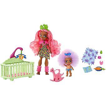 Cave Club Wild About Babysitting Playset & Fernessa Doll