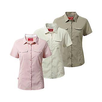 Craghoppers Ladies NosiLife Adventure Short Sleeve Shirt
