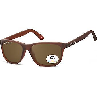 نظارات شمسية للجنسين من SGB البني / شفافة (MP48)