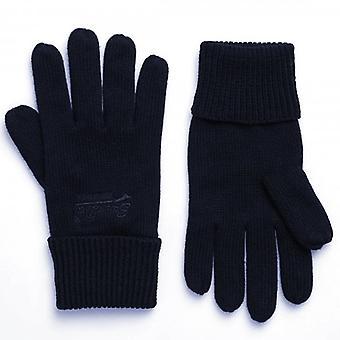 Superdry Orange Label Gloves Navy Grit CS2