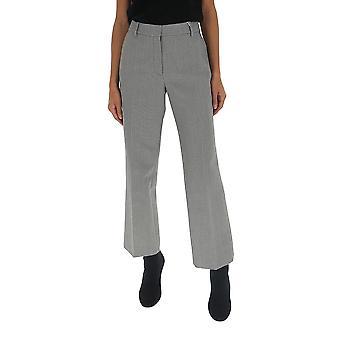 Alexander Wang 1wc2194166001 Women's Grey Wool Pants