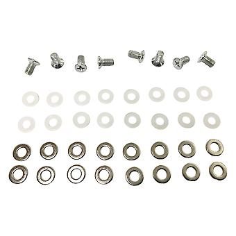 X-clamp repair kit for microsoft xbox 360 screw and washer set rrod replacement | zedlabz