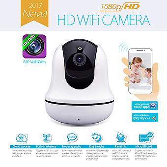 Νέο ασύρματο wifi 1080P κάμερα IP κάμερα σπίτι κιτ ασφαλείας με νυχτερινή έκδοση