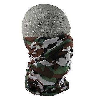 Balboa T118 100% Polyester Motley Tube - Woodland Camouflage