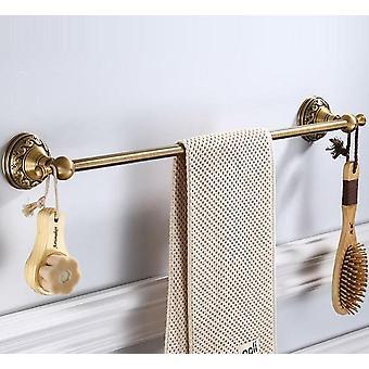 Porte-serviette en laiton antique